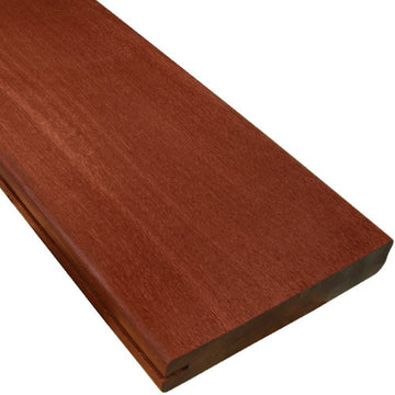 5/4 x 6 Massaranduba Wood One Sided Pregrooved Decking