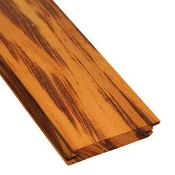 5/4 x 6 Tigerwood Rainscreen Siding Sample