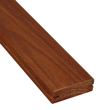 1 x 4 +Plus® Cumaru Wood Pregrooved Decking Sample
