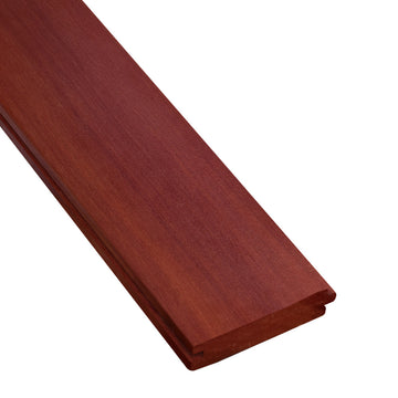 1 x 4 +Plus® Massaranduba Wood T&G Decking Sample