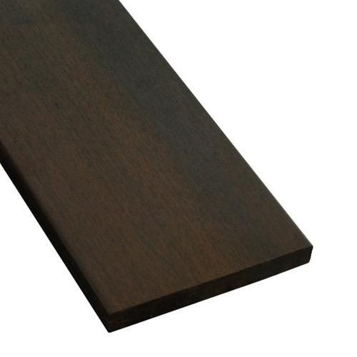 1 x 6 Ipe Wood One Sided Pregrooved Decking
