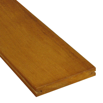 1 x 6 +Plus® Garapa Wood Pregrooved Decking (21mm x 6)