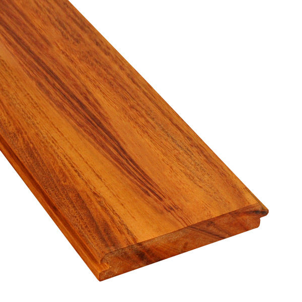 1 x 6 +Plus® Tigerwood V-Groove Ceiling