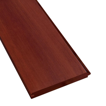 1 x 6 +Plus® Massaranduba Wood V-Groove Ceiling Sample