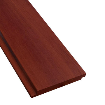 1 x 6 +Plus® Massaranduba Wood Shiplap Siding Sample