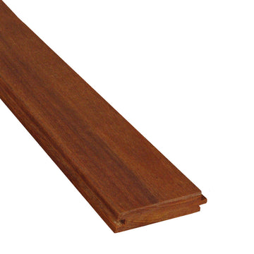 1 x 4 Cumaru Wood T&G Decking Sample