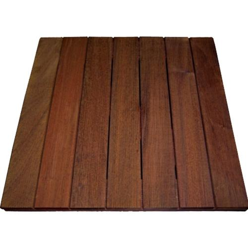 Ipe Deck Tiles 20 x 20 - Anti-slip