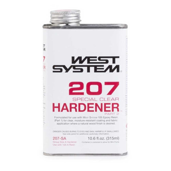 0.66 Pint West System 207-SA Special Clear Hardener