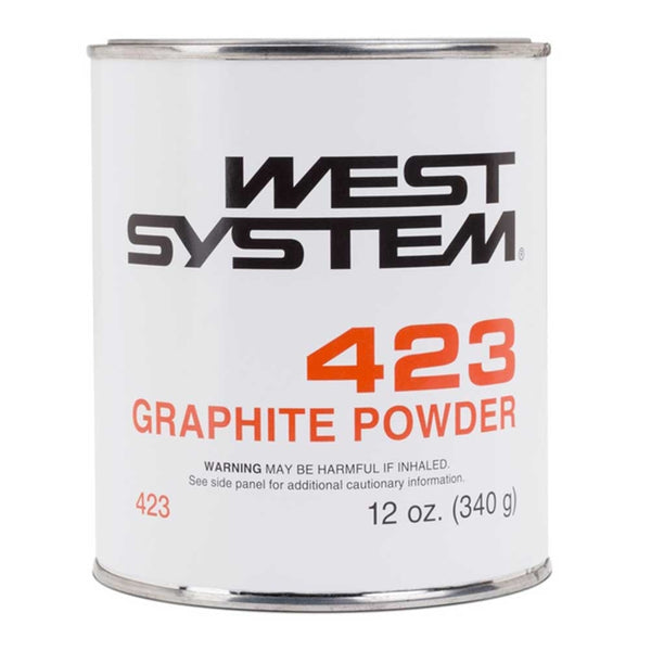 12 Ounce West System 423 Graphite Powder