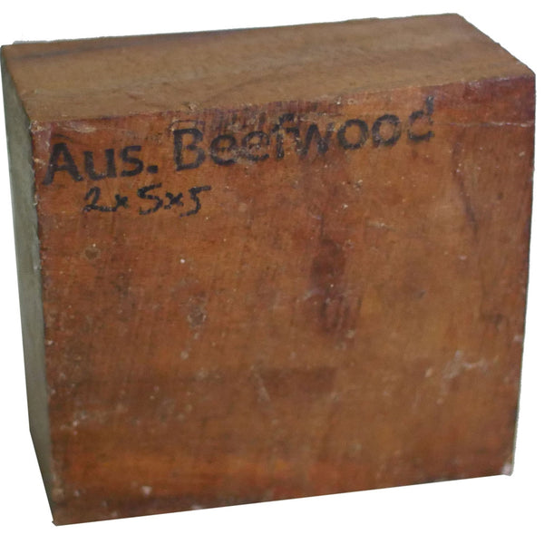 2″ x 5″ x 5″ Australian Beefwood Turning Blank