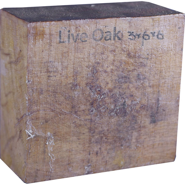 3″ x 6″ x 6″ Live Oak Turning Blank