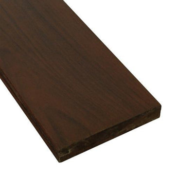 5/4 x 6 Ipe Wood One-Sided Pregrooved Decking Sample