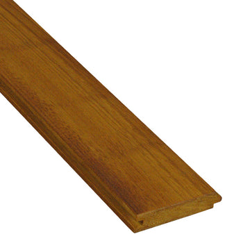 5/4 x 4 Garapa Wood T&G Decking Sample