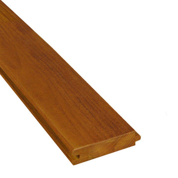 1 x 4 +Plus® Garapa Wood T&G Decking Sample
