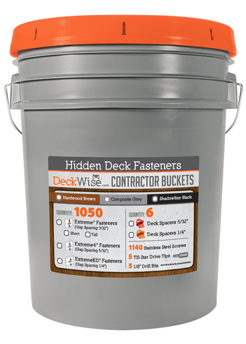 DeckWise® Contractor Bucket, 5 Gallon