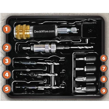 DeckWise™ Drill & Drive Kit