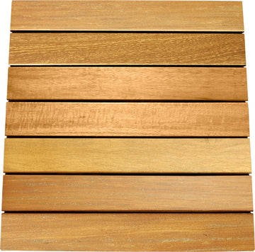 Garapa Deck Tiles 20 x 20 - Smooth