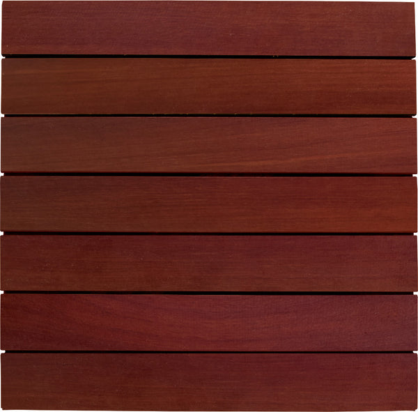 Massaranduba Deck Tiles 20 x 20 - Smooth