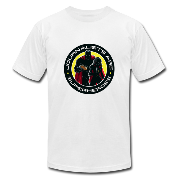 Journalists Are Superheroes (Women) T-Shirt - white