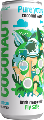 Coconaut GoHigher! - 100% Pure Young Coconut Water - 12er Tray