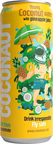 Coconaut GoHigher! - Young Coconut Water with Pineapple Juice - 12er Tray