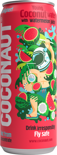Coconaut - Young Coconut Water with Watermelon Juice - 12er Tray