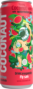 Coconaut GoHigher! - Young Coconut Water with Watermelon Juice - 12er Tray