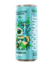 Laden Sie das Bild in den Galerie-Viewer, Coconaut GoHigher! - Sparkling Young Coconut Water - 12er Tray
