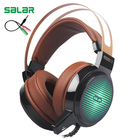 Salar C13 Wired Gaming Headset 3.5mm Plug