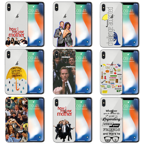 How I Met Your Mother Quotes/Pictures iPhone Case