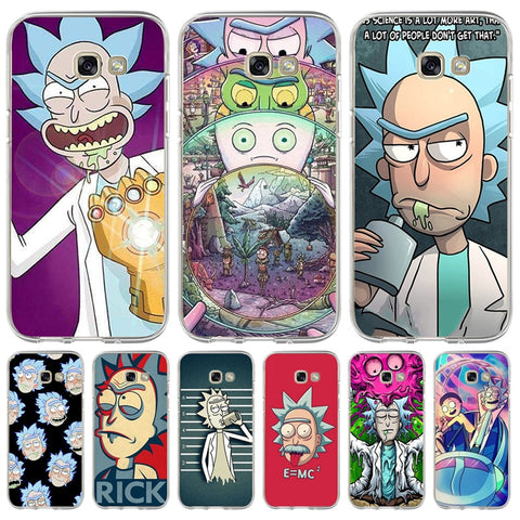Rick And Morty Phone Cases For S6 S7 S8 S9