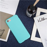 Matte Colors iPhone Cases