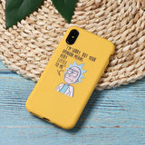 Rick And Morty Phone Cases For iPhone 11 8 8Plus X 7 7Plus XR Xs Max