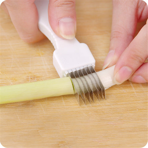Useful Kitchen Onion Cutter Knife Kitchen