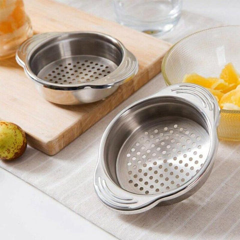 Kitchen Stainless Steel Food Liquid Strainer