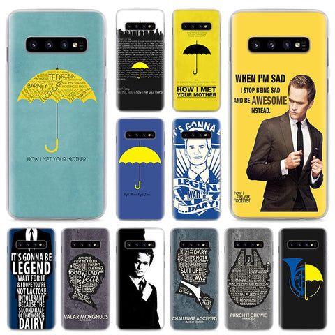 How I Met Your Mother Phone Cases For Samsung Galaxy S10e S10 S8 S9 Plus