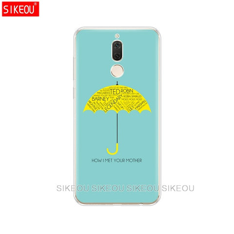 Silicone  How I Met Your Mother Huawei mate 7 8 9 10 pro Phone Cases