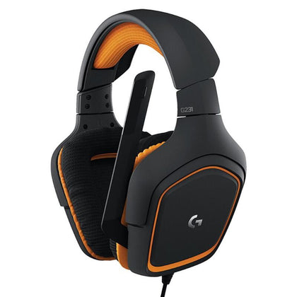 Logitech G231 3.5mm Wired Gaming Headsets for High Quality Gaming Experience