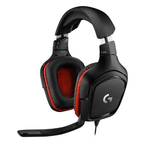 Logitech G331 3.5mm Wired Gaming Headset With a Microphone