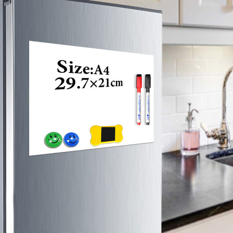 29.7 x 21cm Useful Magnetic Whiteboard
