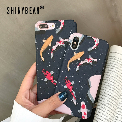 Fancy iPhone X XR XS Max 8 7 6 6S Plus Plus Phone Case Japanese Style