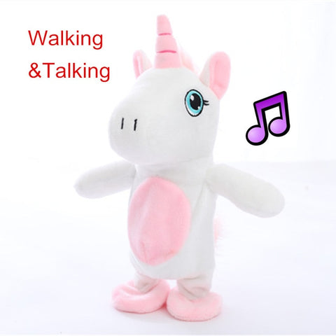 Electric Walking Unicorn Toy With Music