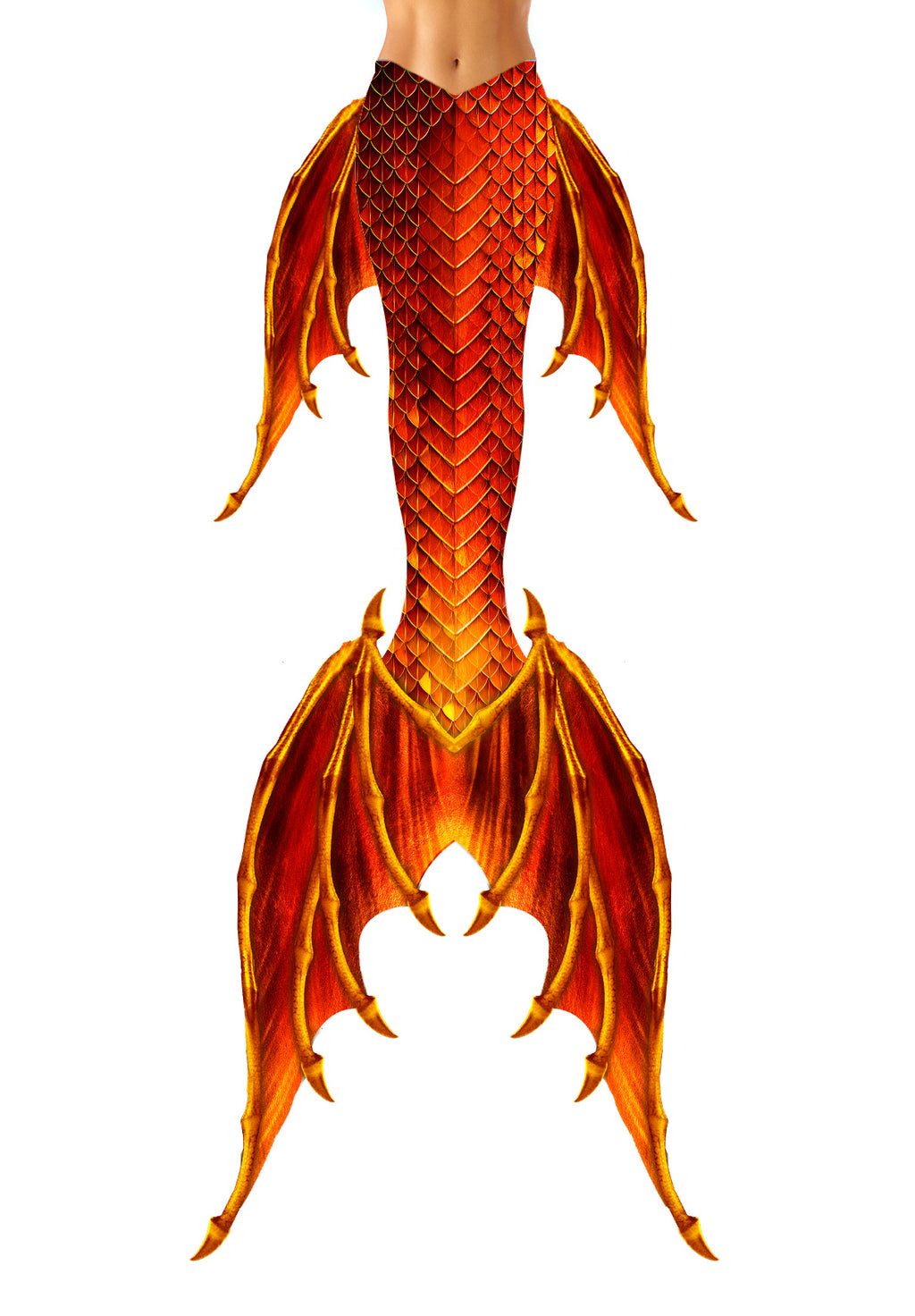 Fire Fin MerDragon Tail