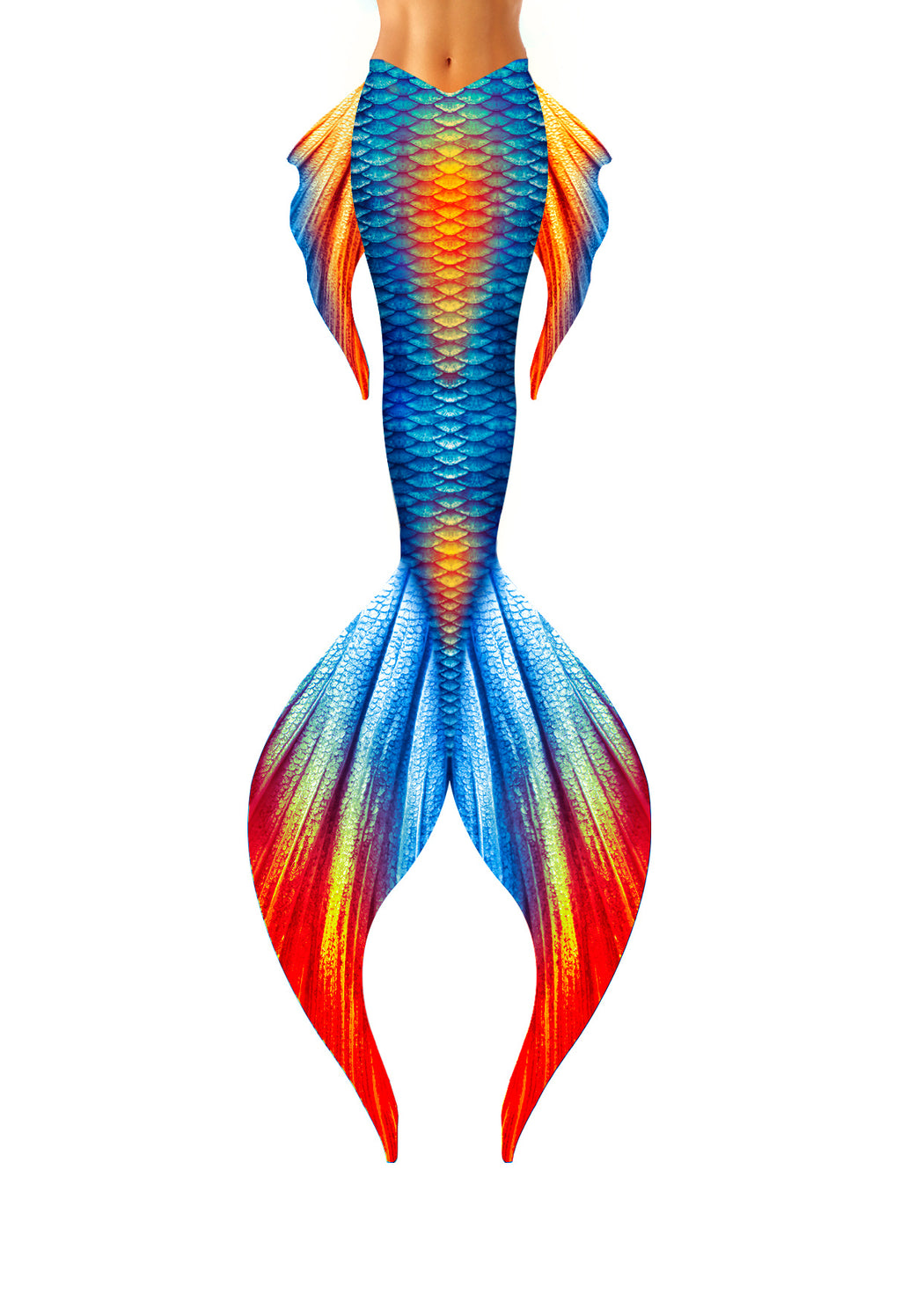 Flame Classic Mermaid Tail