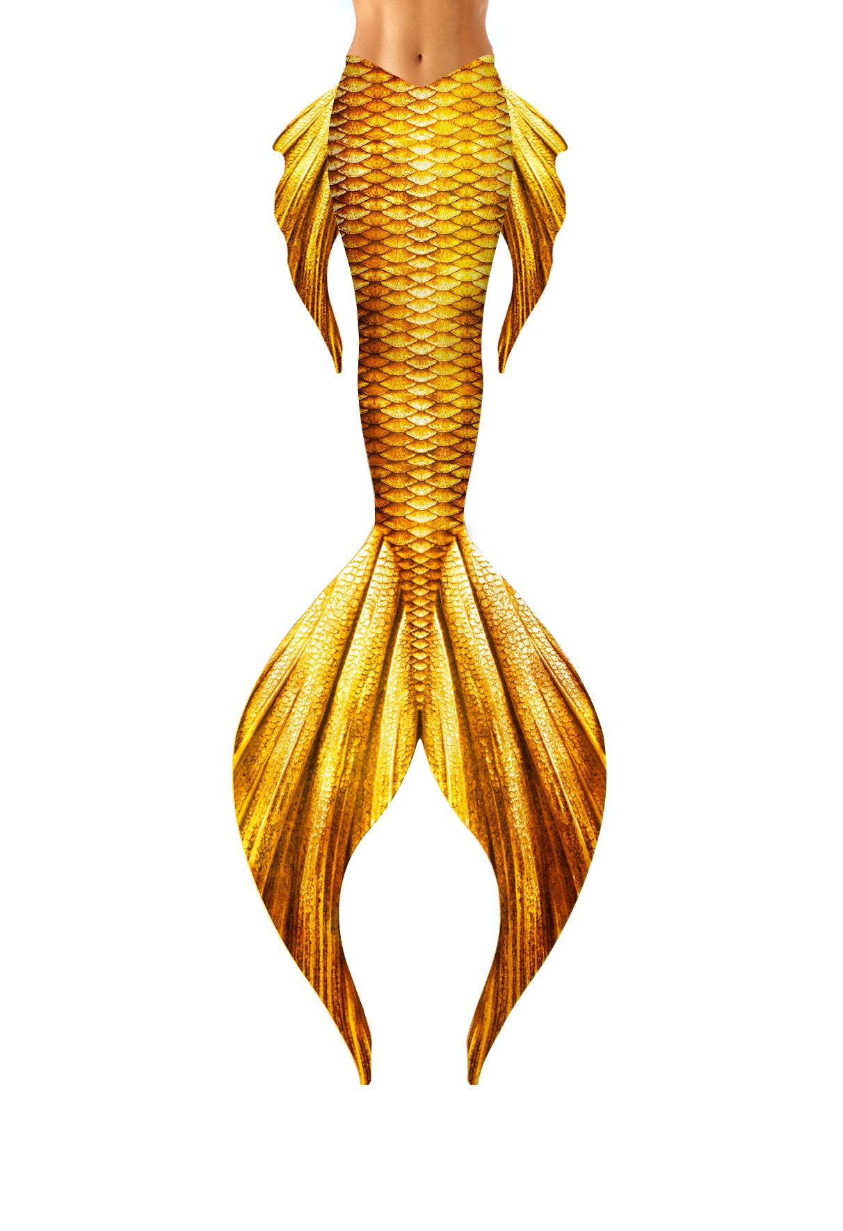 Gold Tritons Daughter Mermaid Tail