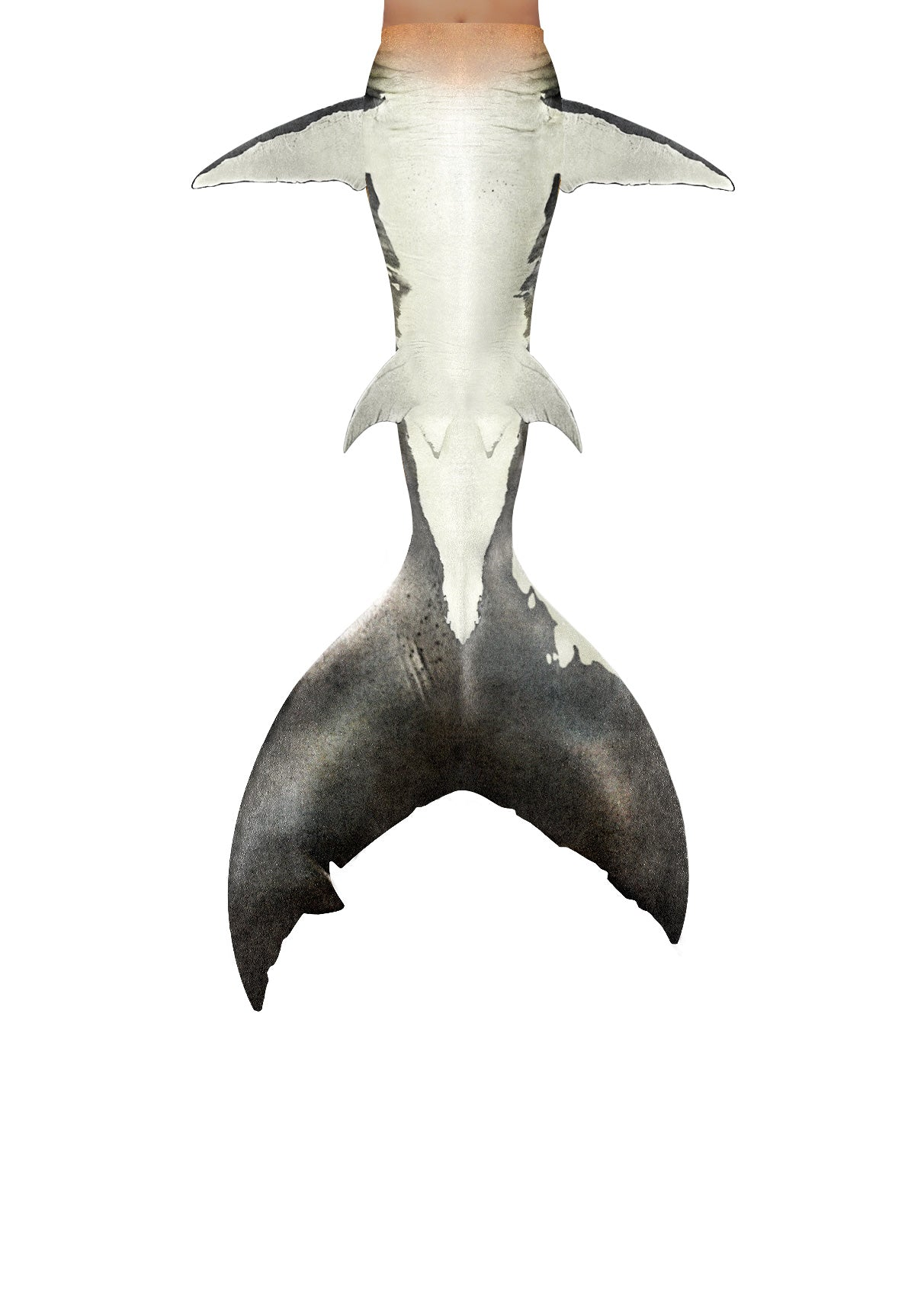 Great White Shark Mermaid Tail