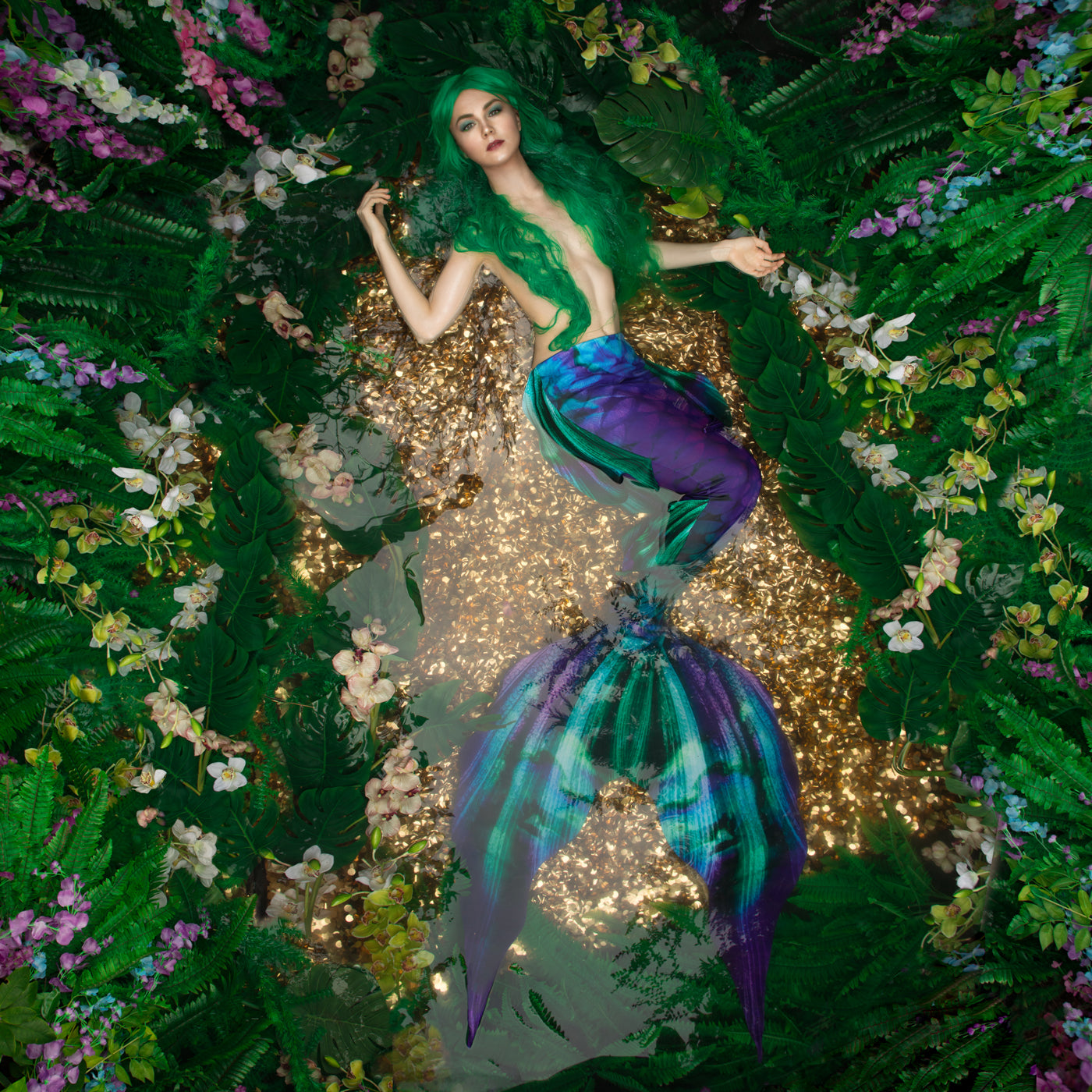 Orchid Waterlust Mermaid Tail