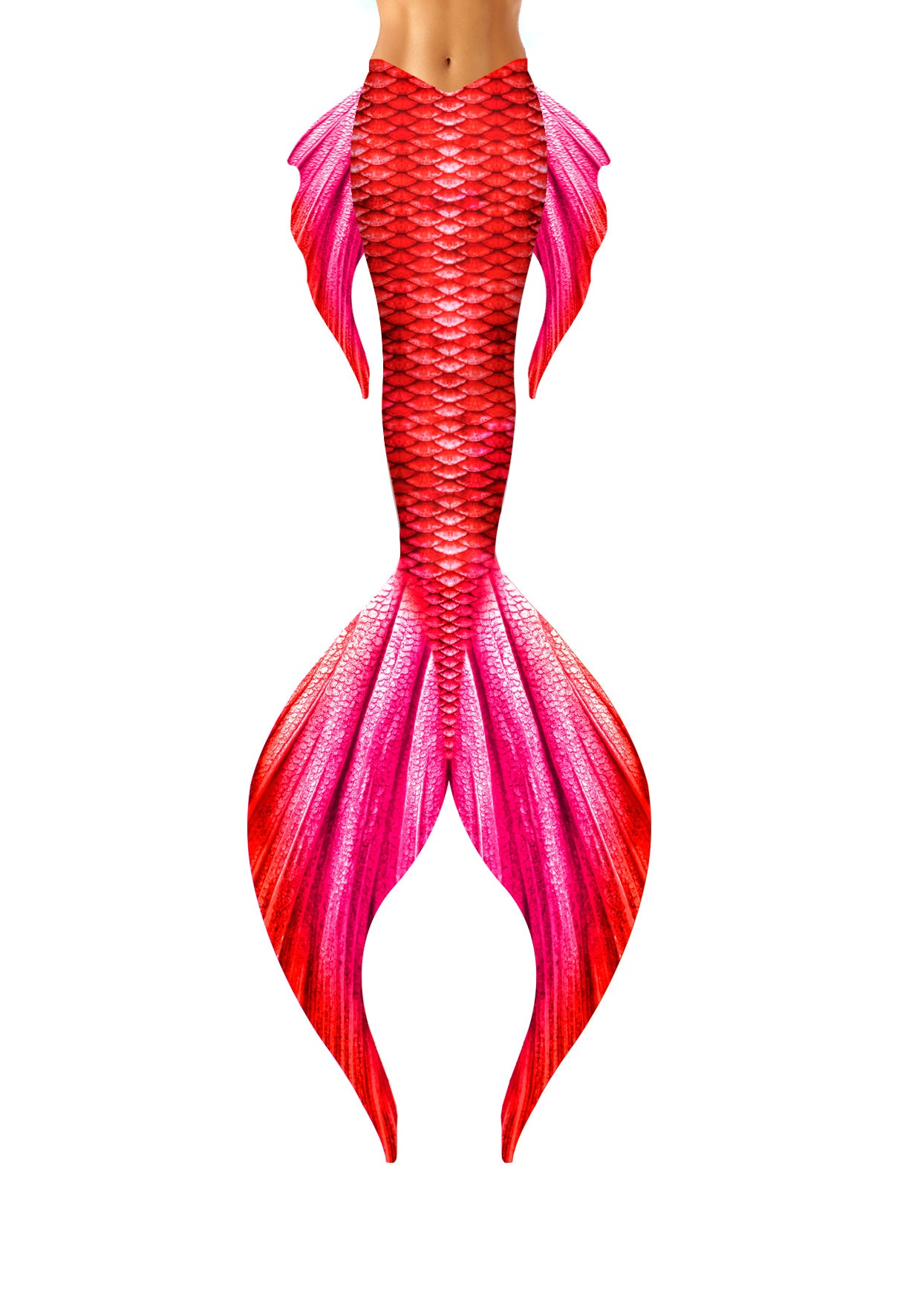 Red Tritons Daughter Mermaid Tail