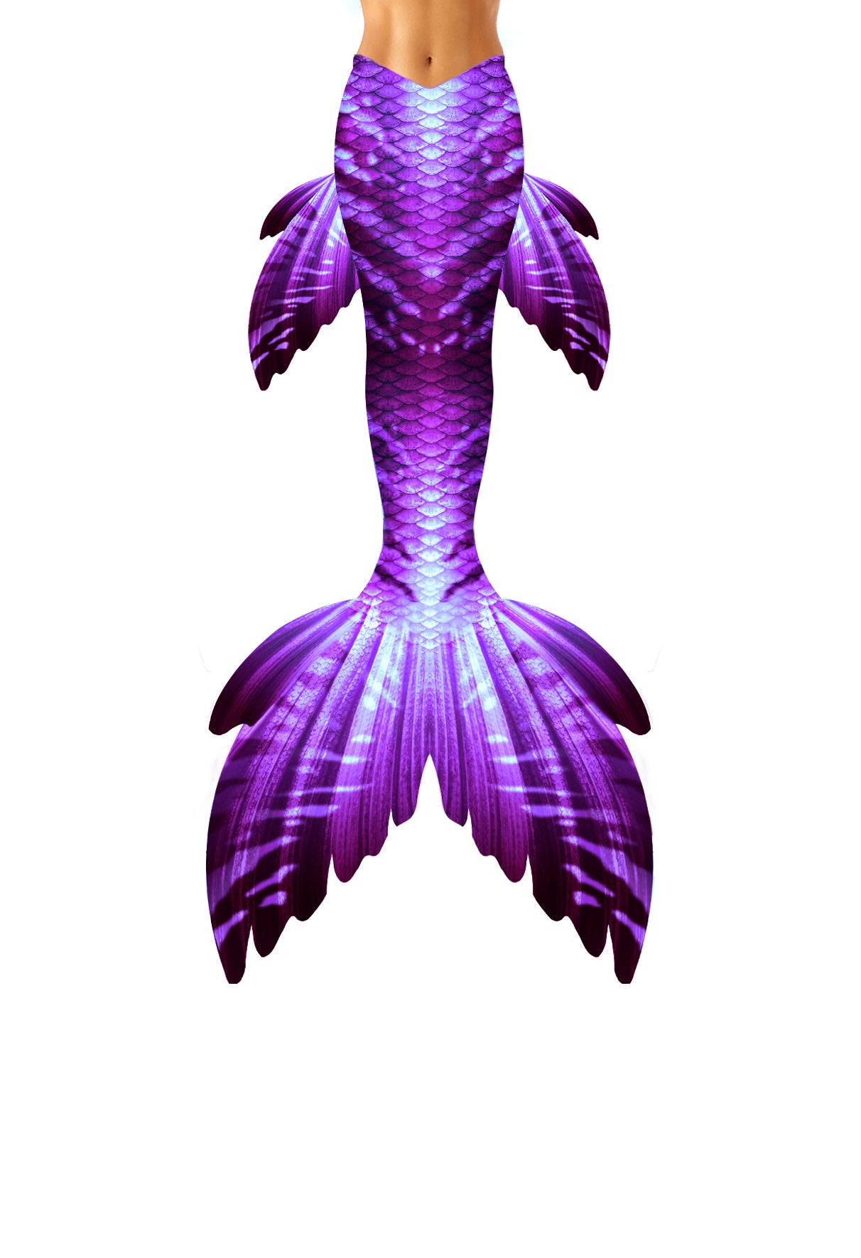 Violet Serendipity Mermaid Tail