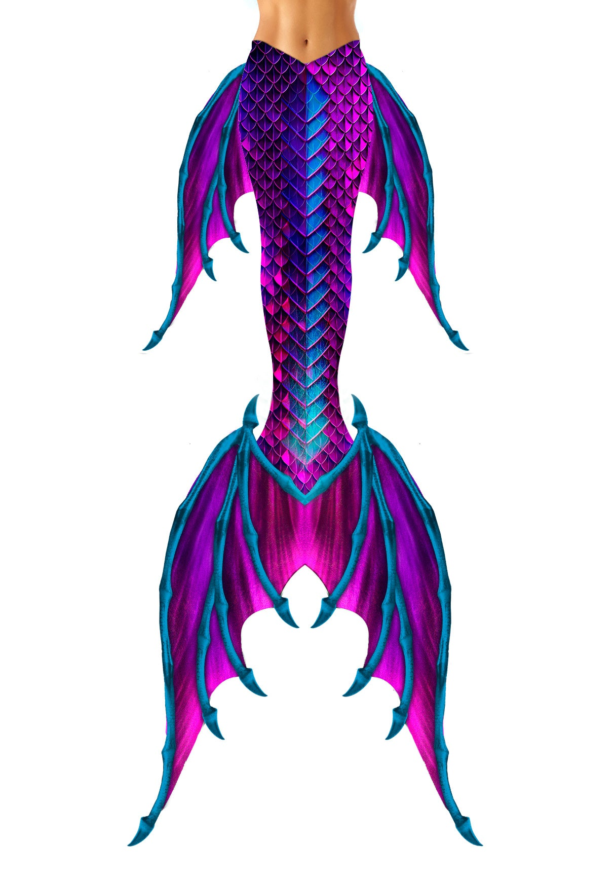 Arctic Reef MerDragon Tail